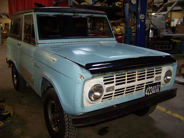 66 Ford Bronco - Bill