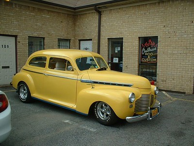 41 Chevy Sedan - Bill